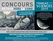 Concours Français et Sciences 2019 : Retour vers la Lune