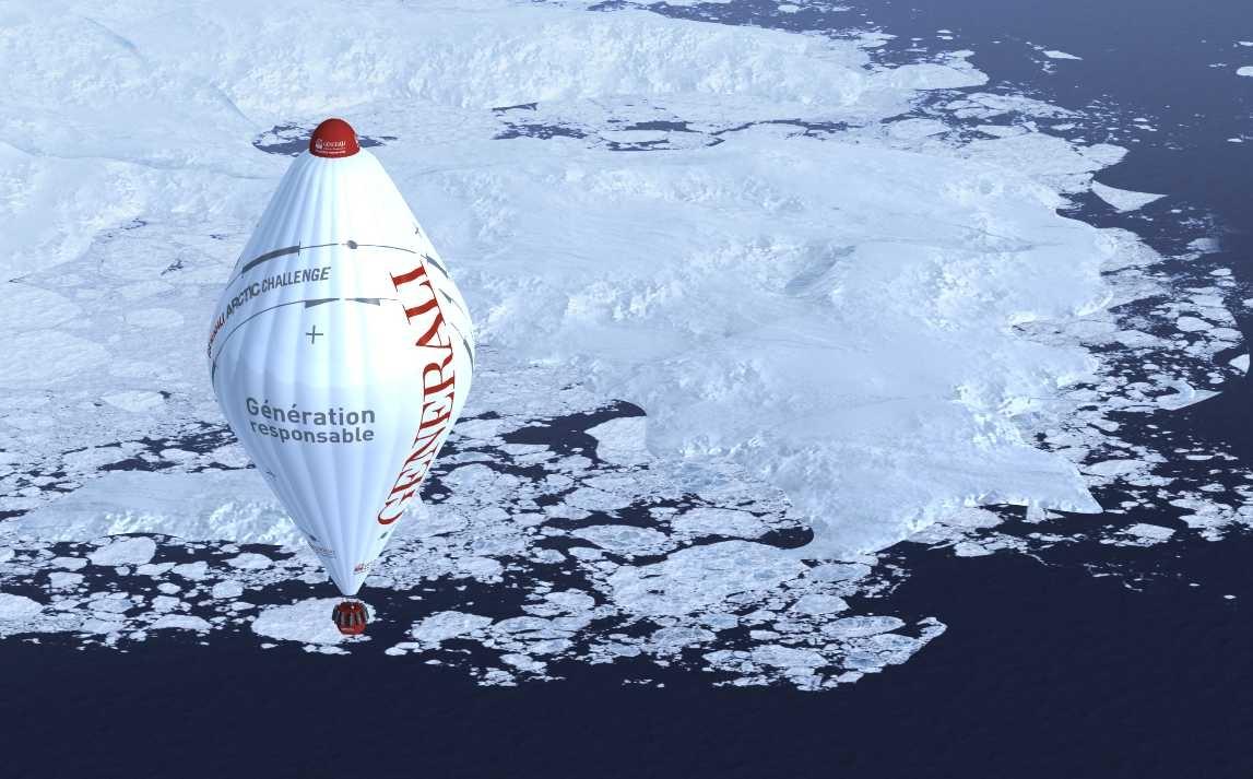 Générali Arctic Observer : le prochain défi de J-L. Etienne