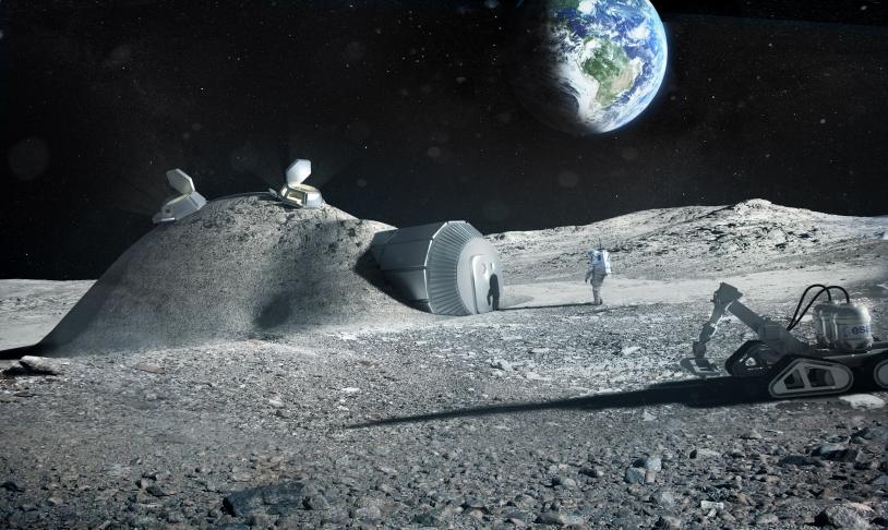 Base lunaire européenne