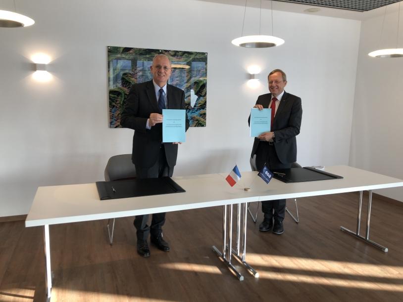 Signature du bureau ESERO-France
