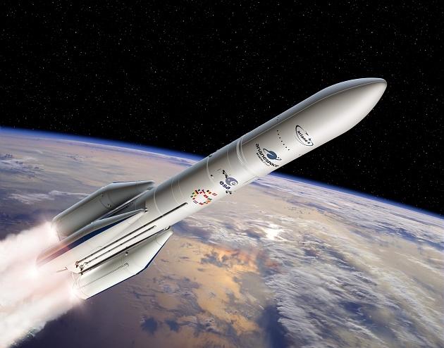 Illustration du lanceur Ariane 6.