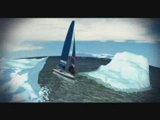 Vendée Globe Junior - Le parcours de la course