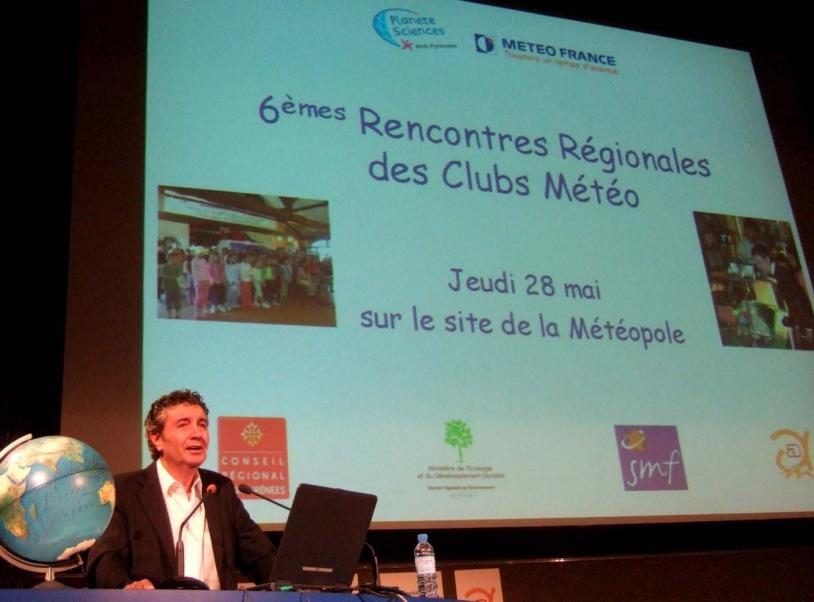 Le directeur général adjoint de Météo France, Daniel Roux ©CNES