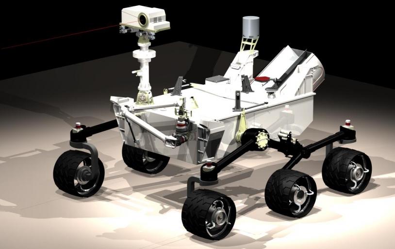 Le rover de la mission MSL, © NASA