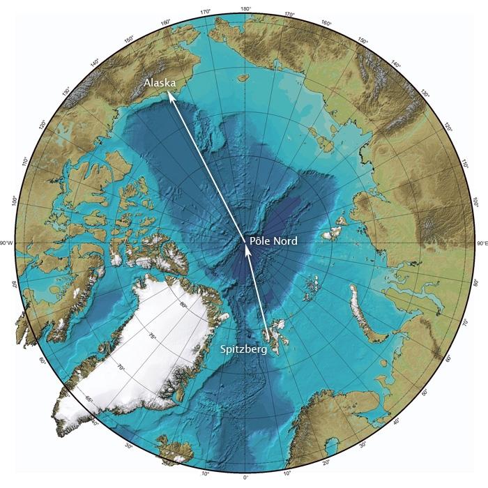 Du Spitzberg aux côtes de l'Alaska, 3500 kilomètre en ballon au-dessus de la banquise Arctique