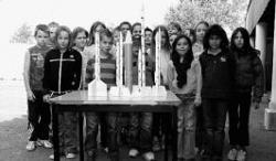 Les fusées de l'école Galilée
