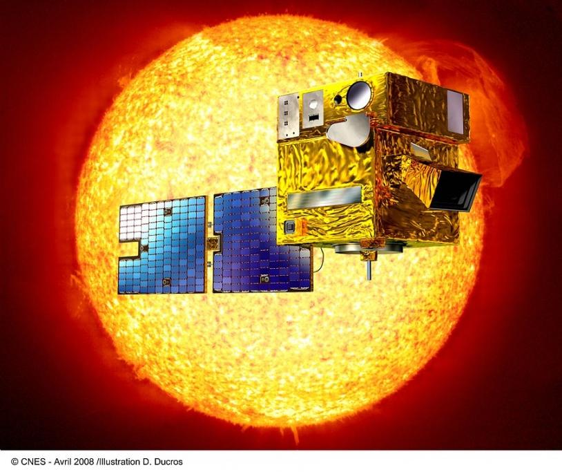 Satellite Picard - Crédits : CNES/D. Ducros