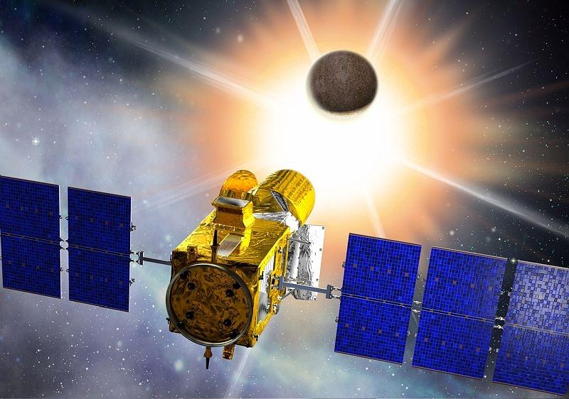 Le satellite Corot - © CNES/D. Ducros
